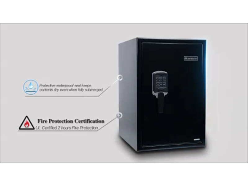 360 degree showcase of our Digital Fireproof and Waterproof Safe, the premium protection for what matters most.