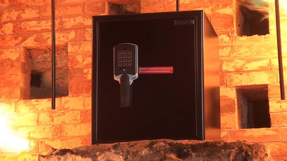 VIDEO on digital fireproof safe