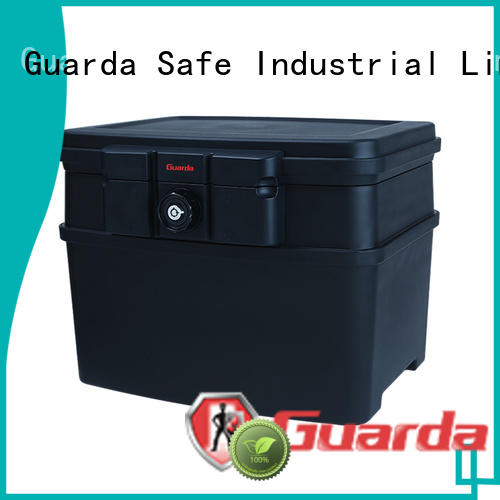 Guarda professional fireproof lock box online for bank