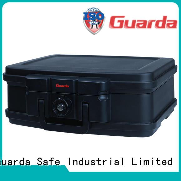 Guarda waterproof fireproof lock box for sale for moeny